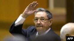 مجمع ملی کوبا، در فوريه سال جاری، اوايل اسفندماه ۱۳۸۶، رائول کاسترو، برادر فيدل کاسترو را به عنوان جانشين او و رهبراين کشور تعيين کرده است. عکس از AFP