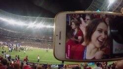 Маша и футбол