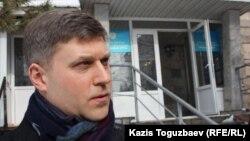 Заңгер Сергей Уткин. Алматы, 29 қаңтар 2014 жыл.