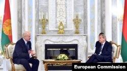 Сустрэча Аляксандра Лукашэнкі 21 чэрвеня з эўракамісарам у эўрапейскай палітыцы суседзтва Яганэсам Ганам