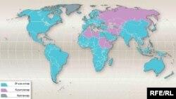 Harta membrilor OMC.