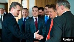 Переговоры в Берлине между представителми России, Украины и ЕС по поставкам росийского газа