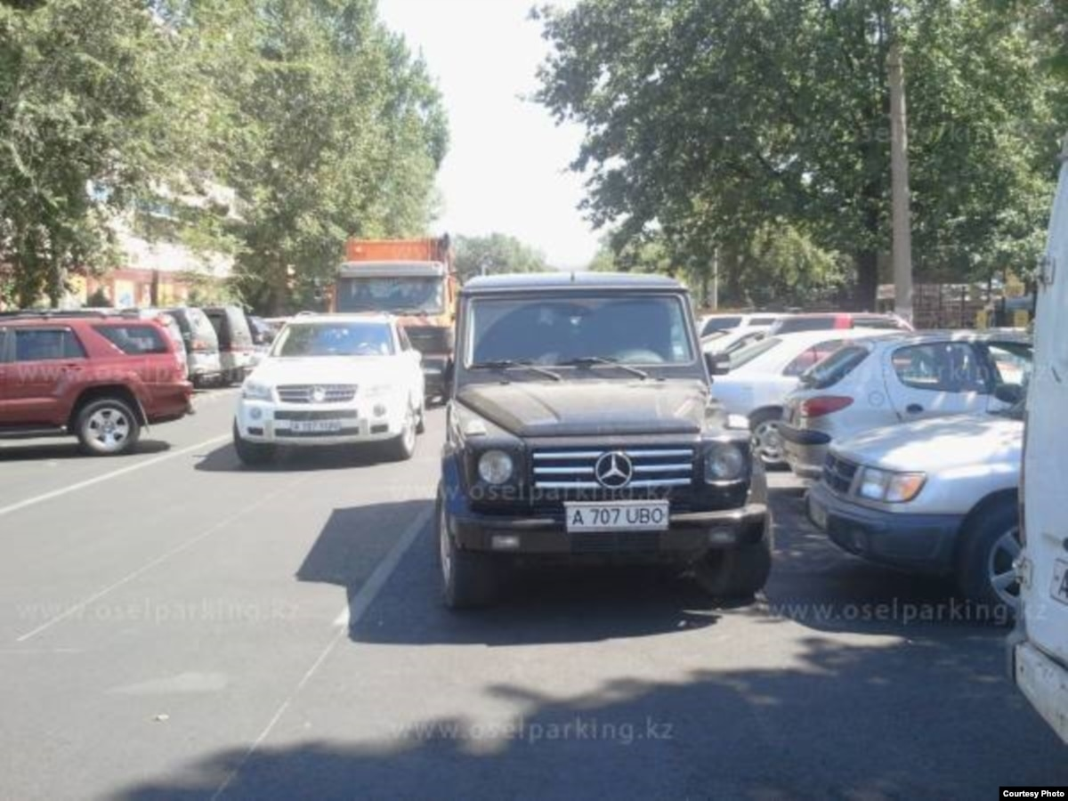 Snitch On A Driver: Kazakhstan's Bad Parking Vigilantes
