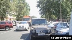 Bad parking in Kazakhstan