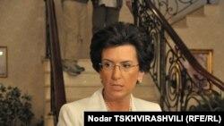 Нино Бурджанадзе не допускает мысли о поражении на выборах. В случае победы она намерена добиться роспуска парламента и перевыборов