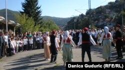 Svečani program povodom dolaska brigadira u Prijepolje