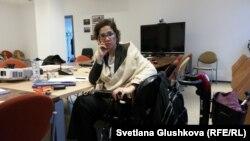БҰҰ-ның мүгедектер құқығы жөніндегі арнайы баяндамашысы Каталина Девандас Агилар. Астана, 12 қыркүйек 2017 жыл