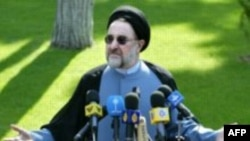 Mohammad Khatami during his presidency in early 2000s. FILE PHOTO