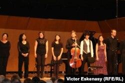 La concertul de gală după cursurile de măiestrie septembrie 2014 la Kronberg