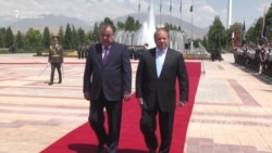Pakistani PM Sharif Visits Tajikistan For Talks On Security, Energy