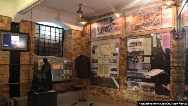 Экспозиция музея НКВД