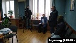 Николай Федорян в зале суда в Херсоне