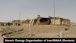 Бегруз Камалванді заявив, що Іран замінить пошкоджену вогнем будівлю іншою, більшою та «з більш прогресивним обладнанням»