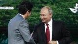 Синдзо Абэ и Владимир Путин во Владивостоке. 12 сентября 2018 года