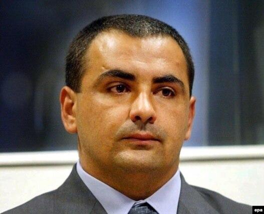 Radovan Stanković u haškoj sudnici, 2002.