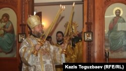The Russian Orthodox Church in Kazakhstan says it has ended its ties with Constantinople.