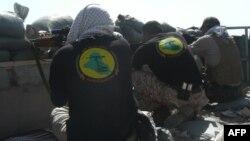 اعضای لشکر امام علی در حومه تکریت