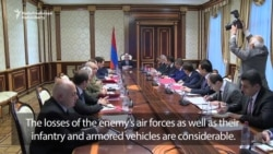 Sarkisian Calls For Military Cooperation With Nagorno-Karabakh