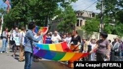 ЛГБТ-марш у Кишиневі, березня 2013 року
