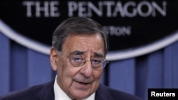 Secretary of Defense Leon Panetta said international forces will end combat missions in Afghanistan next year