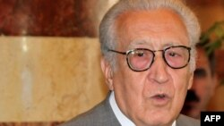 International peace envoy for Syria Lakhdar Brahimi