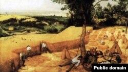 """""""Жатва"""". Питер Брейгель Старший. 1565"""