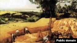 """Питер Брейгель. """"Жатва. 1565 год"""