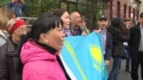 Kazakh Activists Jailed For Protest Banner At Marathon