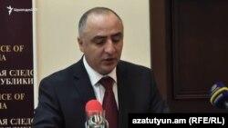 Начальник Специальной следственной службы Сасун Хачатрян (архив)