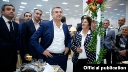 Премьер-министр Карен Карапетян посещает специализированную выставку «Армпродэкспо», 22 октября 2016 г․