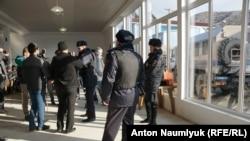 Российские силовики на заседании «Крымской солидарности», 27 января 2018 года