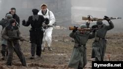 İkinci Dünya müharibəsi hadisələrinin səhnələşdirilməsi, Belarus, 23 fevral 2008