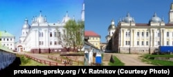 Монастырь Нилова Пустынь – на фото Прокудина-Горского и сейчас