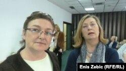 Tanja Vac i Mirela Pandžić