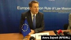 Shefi i Zyrës së Bashkimit Evropian në Kosovë, Samuel Zhbogar.