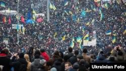 «Эўрамайдан» у Кіеве, 2013 год