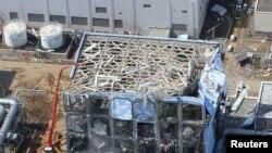 "АЭС ""Фукусима"" после аварии"