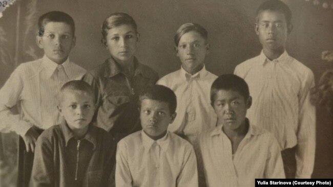 В енисейском детском доме. Фото из архива А. Вольфа