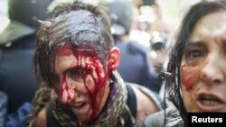 Протестите во Мадрид