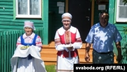 У беларускай вёсцы. Тургенеўка Баяндаеўскага раёну Іркуцкай вобласьці
