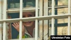 Юлия Тимошенко в СИЗО в Киеве