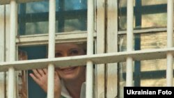 "Clinton also referred to ""political motivations"" behind the conviction of Ukrainian politician Yulia Tymoshenko."