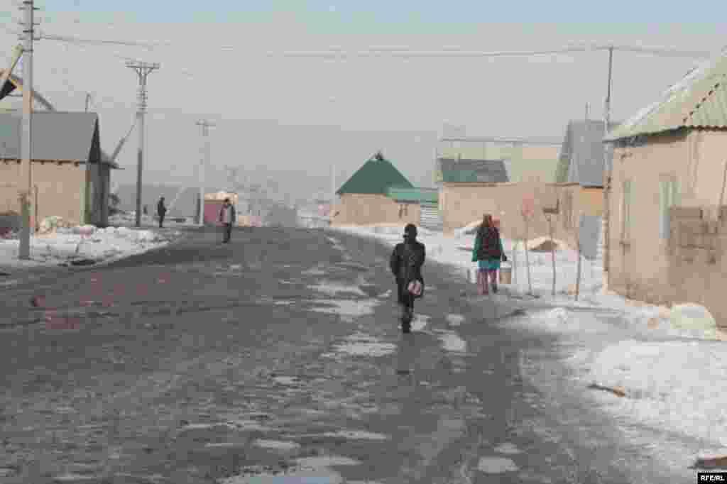 Бишкекские новостройки зимой #8
