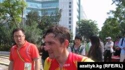 Кыргызстандык велоспортчу Евгений Ваккер.