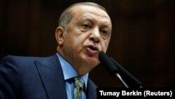 Türk prezidenti Rejep Taýýyp Erdogan