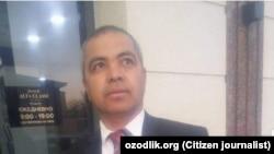 Депутат из Намангана Олимжон Тухтаназаров.