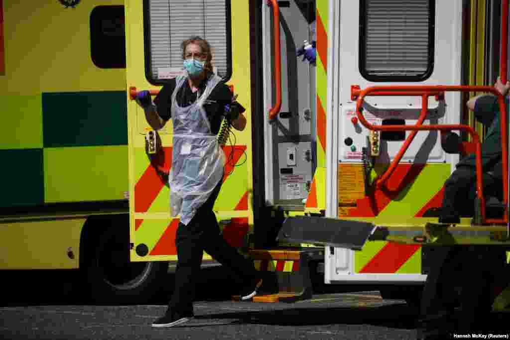 За даними Департаменту охорони здоров'я та соціального захисту Великої Британії, 21 квітня в країні виявлено129,044 хворих на COVID-19