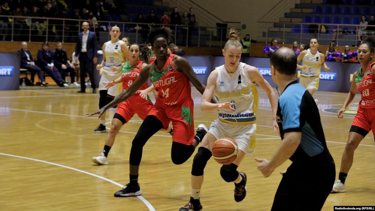 Баскетбол: женская сборная Украины выиграла матч квалификации Евробаскета-2021
