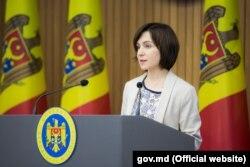 Premierul Maia Sandu, Chișinău, 13 iulie 2019