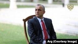 د افغان ولسمشر لومړی مرستیال امرالله صالح